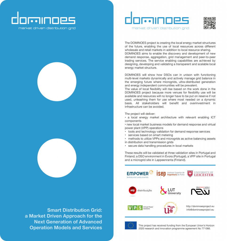DOMINOES flyer